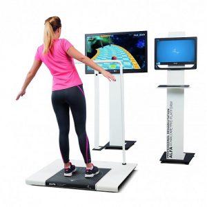 Virtual Rehabilitation Stabilometric Platform 300x300 - VIRTUAL REHABILITATION –ALFA STABILOMETRIC PLATFORM