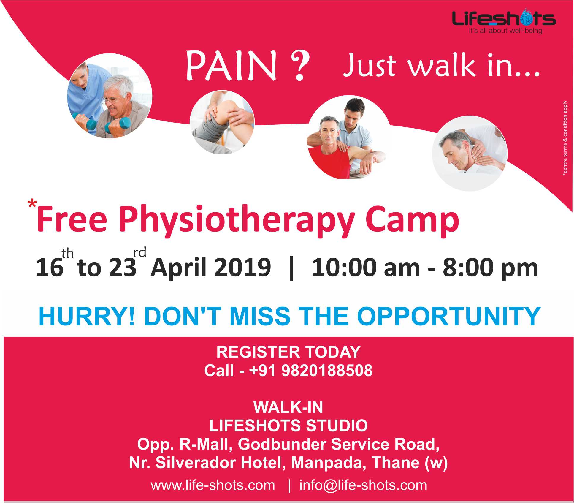 PhysiOcamp mrr - Physiotherpy Camp